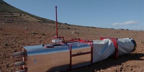 Investigadores de la Universidad de Almería patentan un túnel de viento